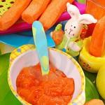 Creme de Cenoura com Gema de Ovo (+ 8 meses)