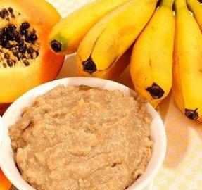 pure banana e papaia